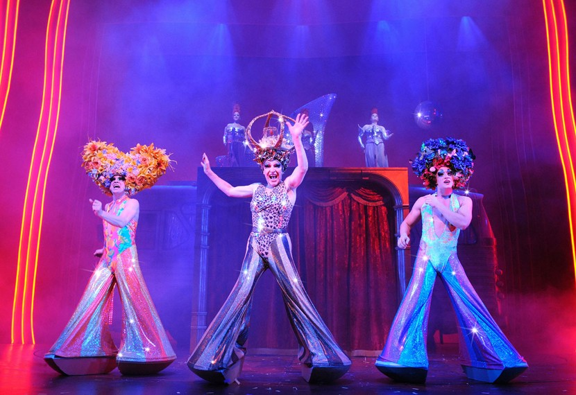 London Production Of Priscilla Queen Of The Desert Stage One
