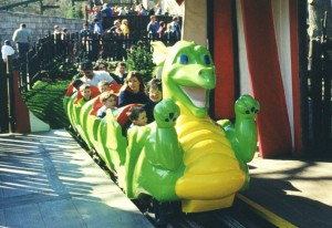 Dragon Mini Coaster Legoland WGH